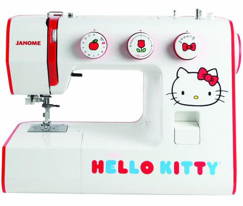Janome Hello Kitty sewing machine